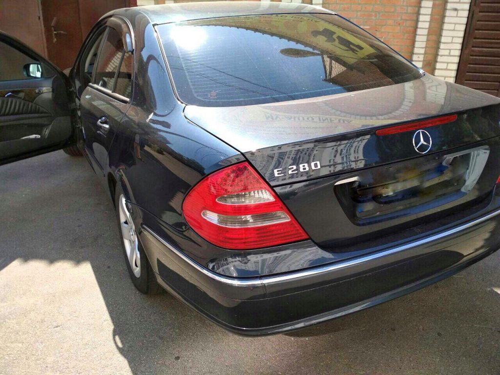 Удалить сажевый фильтр и отключить ЕГР на Mercedes E280 CDI 2006