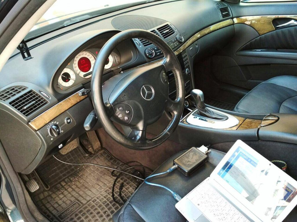 Отключение ЕГР и удаление сажевого фильтра Mercedes E280 CDI 2006