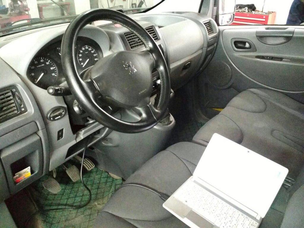 Удалить сажевый фильтр Peugeot Partner 2.0 HDI 2006