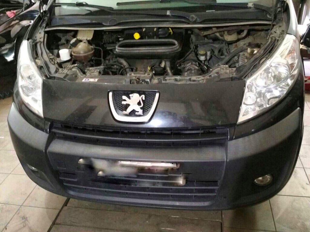 Peugeot Partner 2.0 HDI 2006 удалить сажевый и отключить ЕГР
