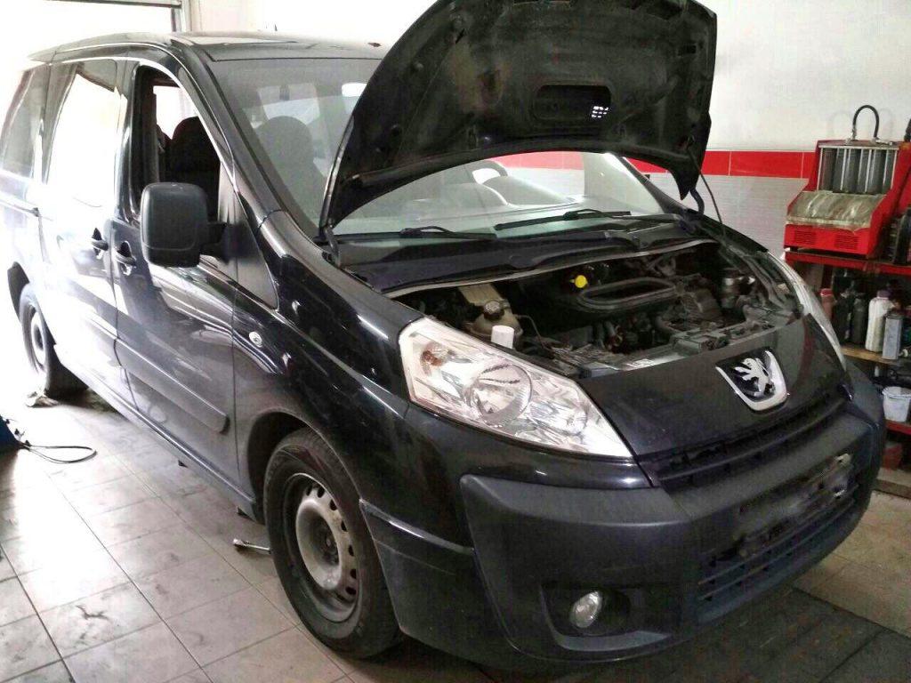 Отключить клапан ЕГР и удалить сажевый фильтр Peugeot Partner 2.0 HDI 2006