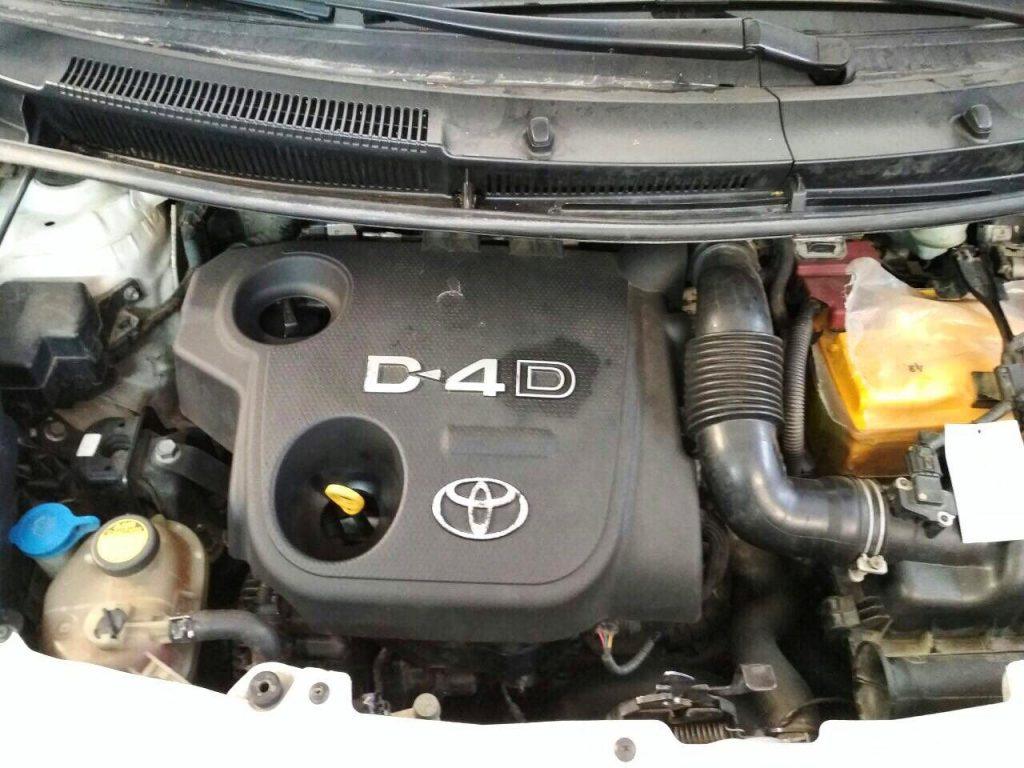 Сажевый фильтр отключение и удаление на Toyota Yaris 1.4 DiD 2011