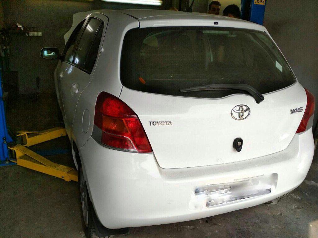 Toyota Yaris 1.4 DiD 2011 удалить и отключить сажевый фильтр