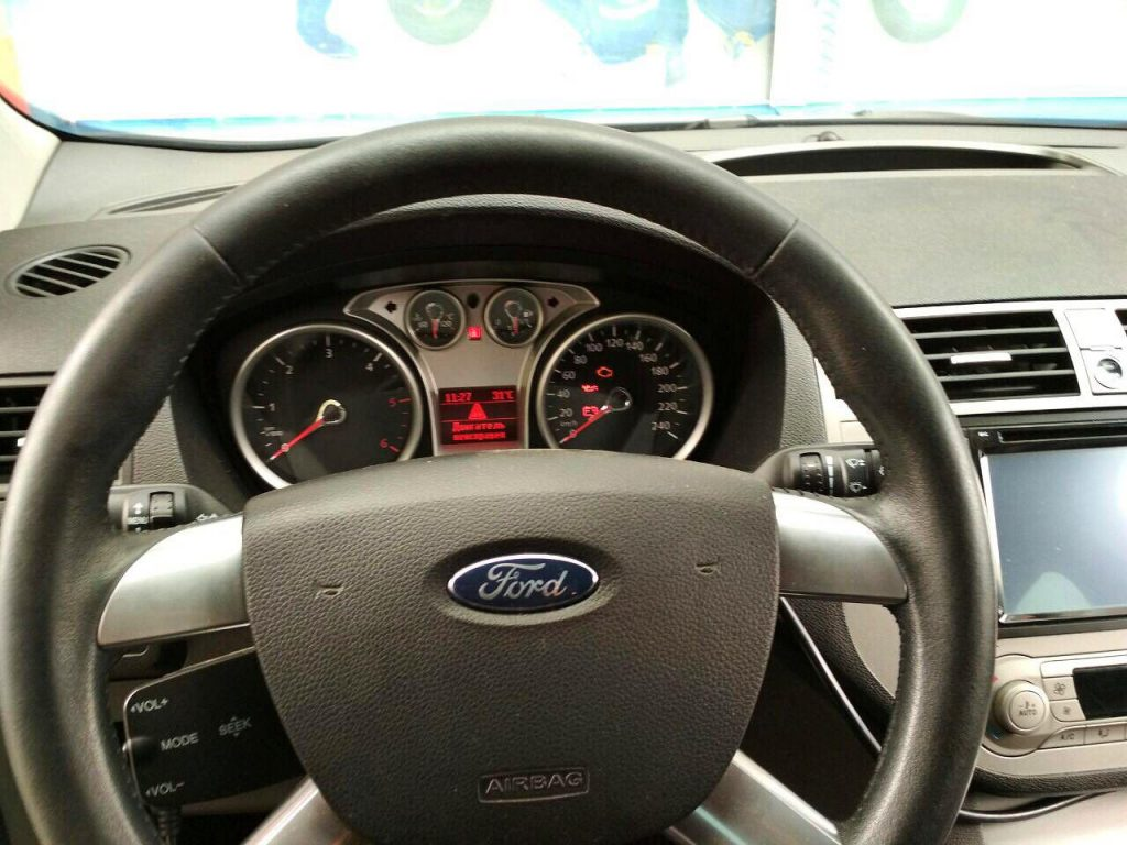 Ford Kuga 2.0 TDCi 2010 отключить сажевый фильтр и удалить