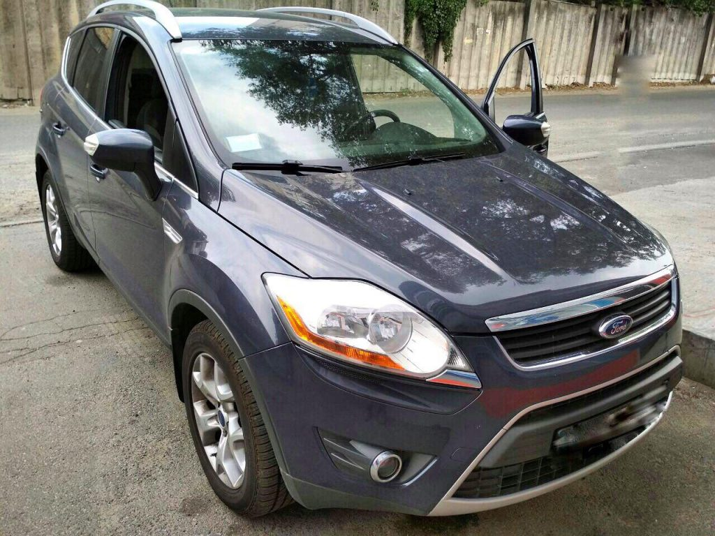 Удалить сажевый фильтр и отключить Ford Kuga 2.0 TDCi 2010