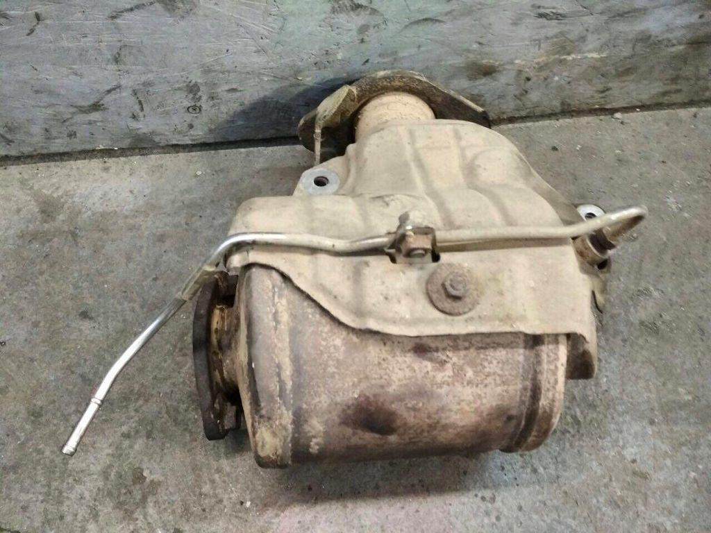 Сажевый фильтр удаление Volkswagen Passat 2.0 TDI 2010