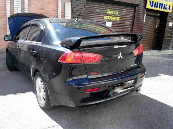Катализатор, удаление и отключение Mitsubishi Lancer X 2.0 2009