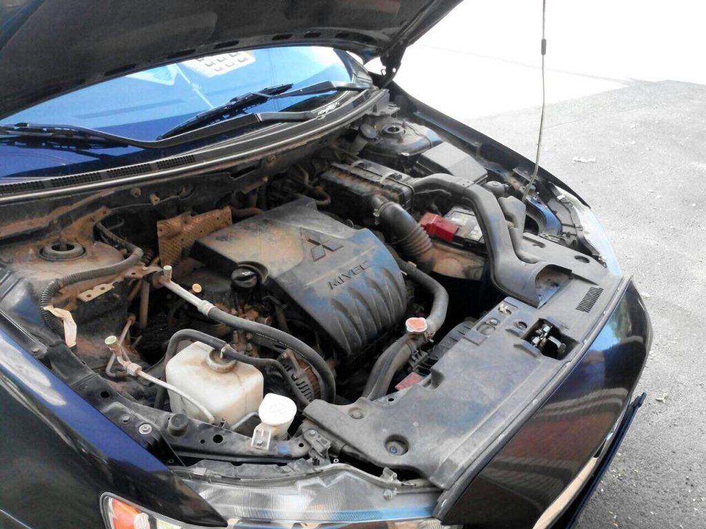 Удалить катализатор и отключить второй лямбда-зонд Mitsubishi Lancer X 2.0 2009