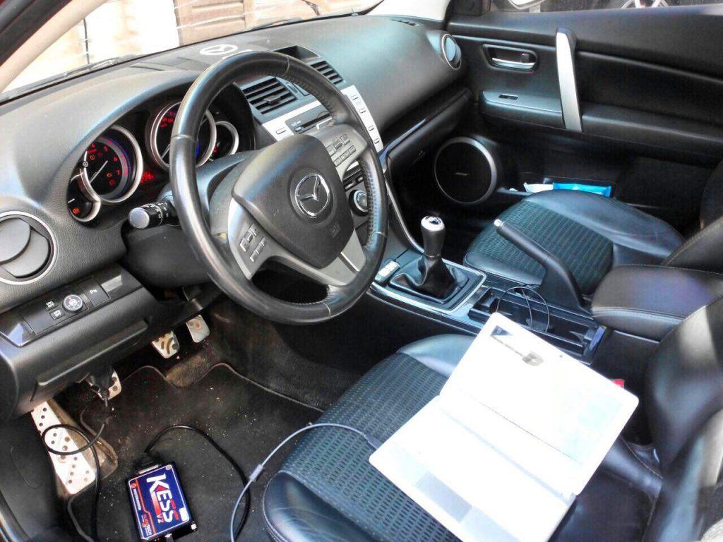 Отключение 2-ого лямбда-зонда Mazda 6 2.5 2008