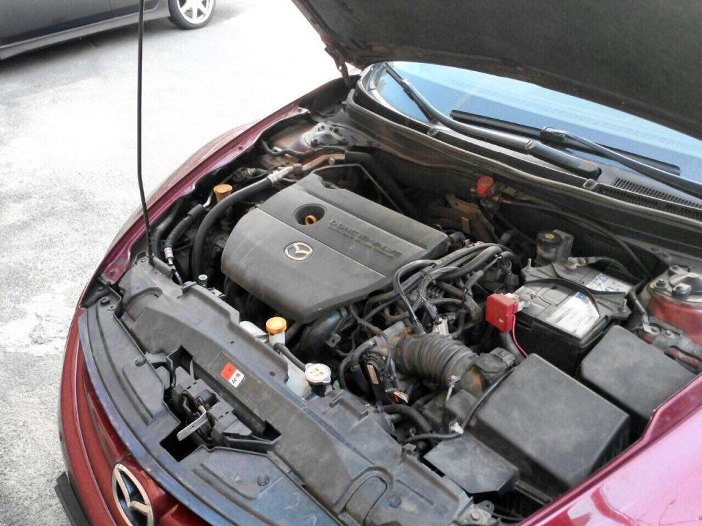Удалить катализатор и отключить 2-ой лямбда-зонд Mazda 6 2.5 2008