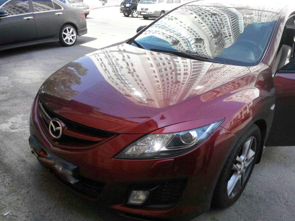 Удалить катализатор и отключить Mazda 6 2.5 2008