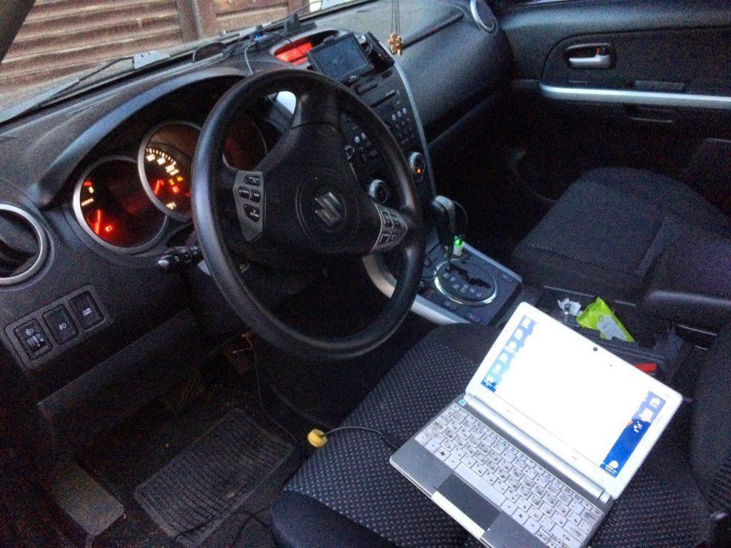 Отключение второго лямбда-зонда на Suzuki Grand Vitara 2.0 2006