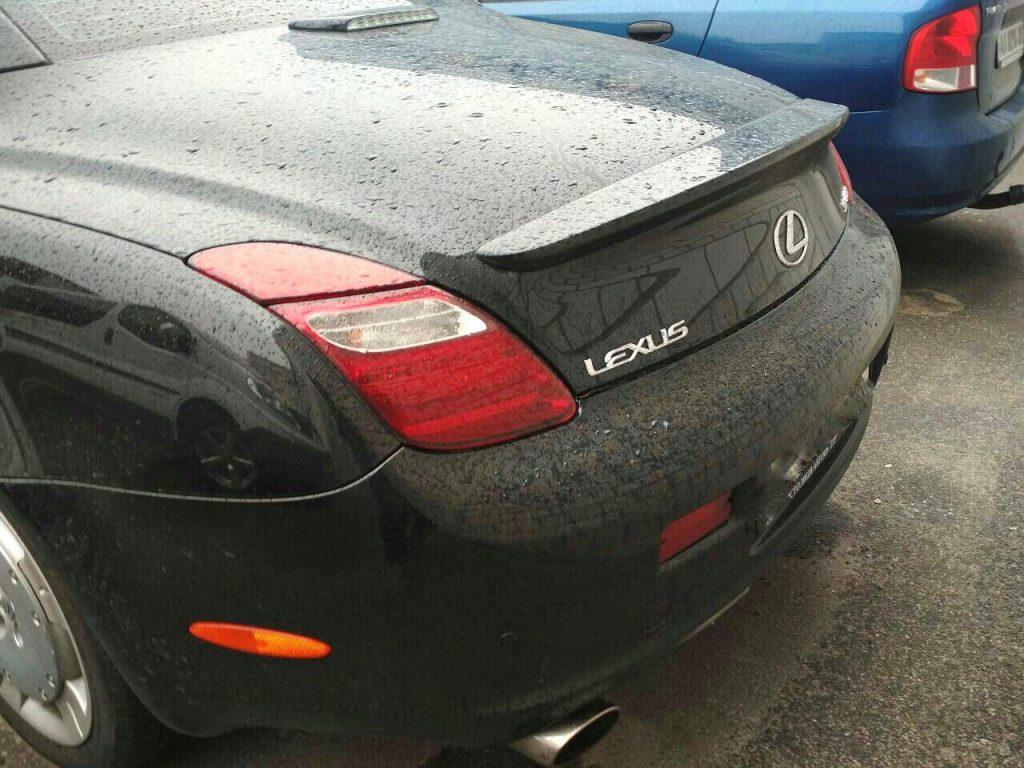 Катализаторы, отключение Lexus SC430 2006