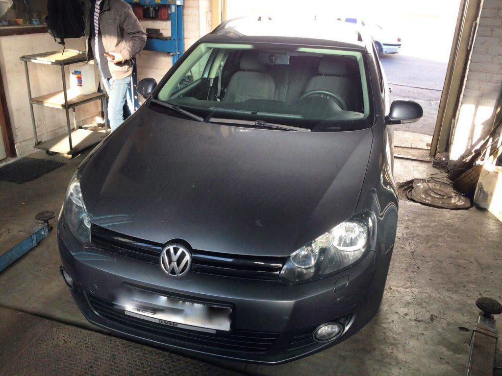 Отключение клапана ЕГР и сажевого фильтра Volkswagen Golf 6 1.6 TDI 2011