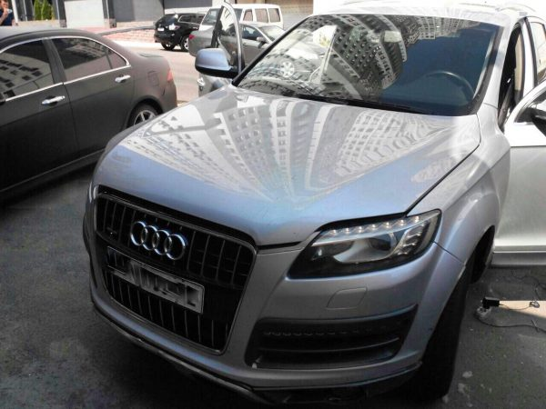 Отключение вихревых заслонок и удаление сажевого фильтра Audi Q7 3.0 TDI 2009
