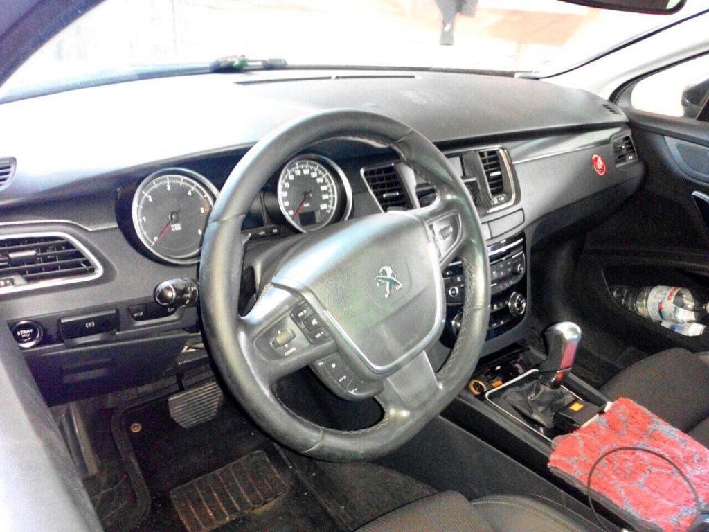 Отключить сажевый фильтр и удалить Peugeot 508 1.6 HDI