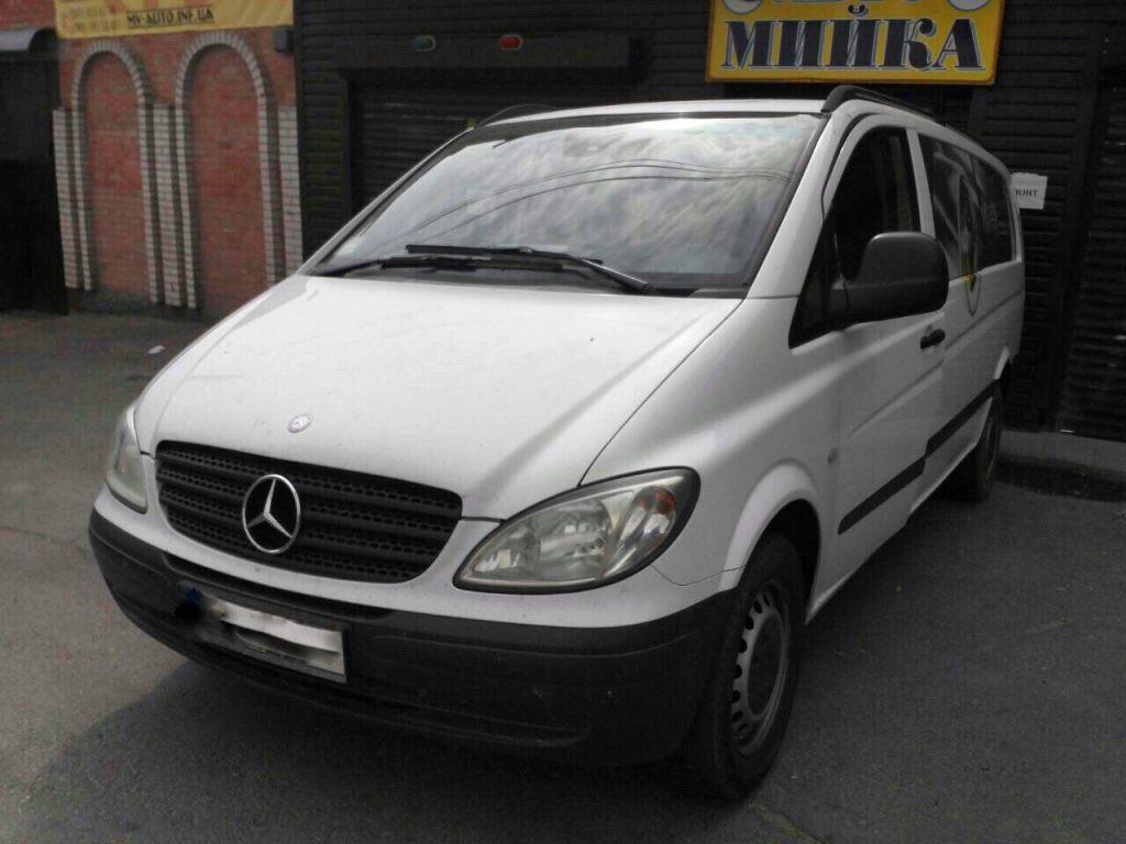 Удалить и отключить сажевый фильтр Mercedes-Benz Vito 2.2 CDI 2008