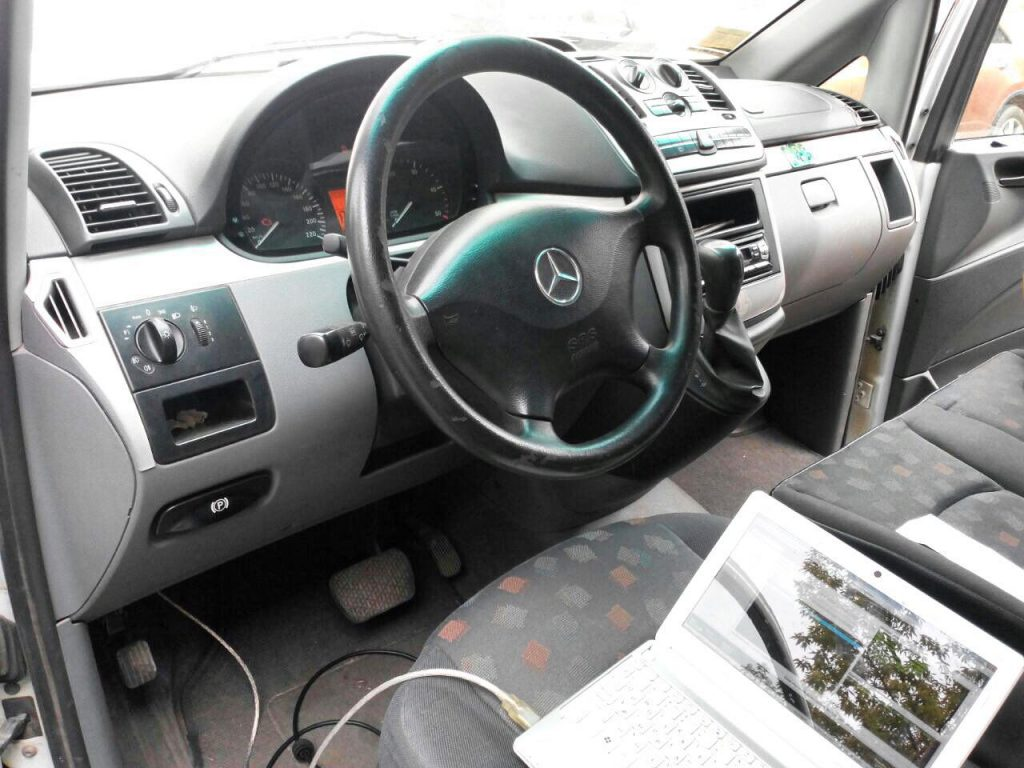 Удаление сажи и отключение ЕГР Mercedes-Benz Vito 2.2 CDI 2008