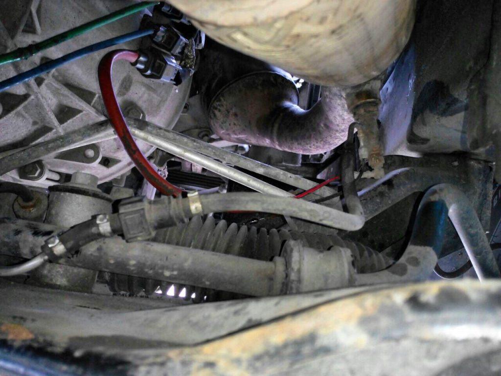 Удаление сажевого фильтра и отключение клапана ЕГР на Ford Transit 2.2 TDCI 2013 SID208
