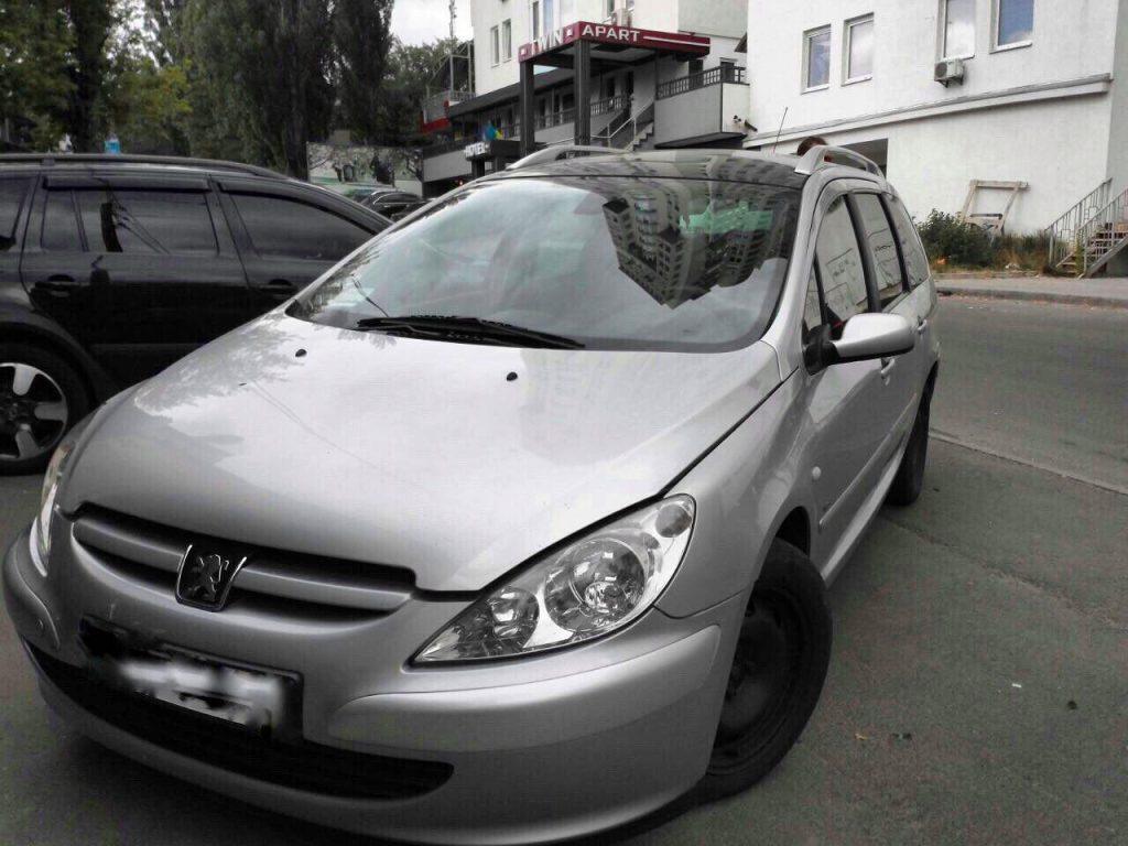 Удалить сажевый фильтр Peugeot 307 2.0 HDI 2004