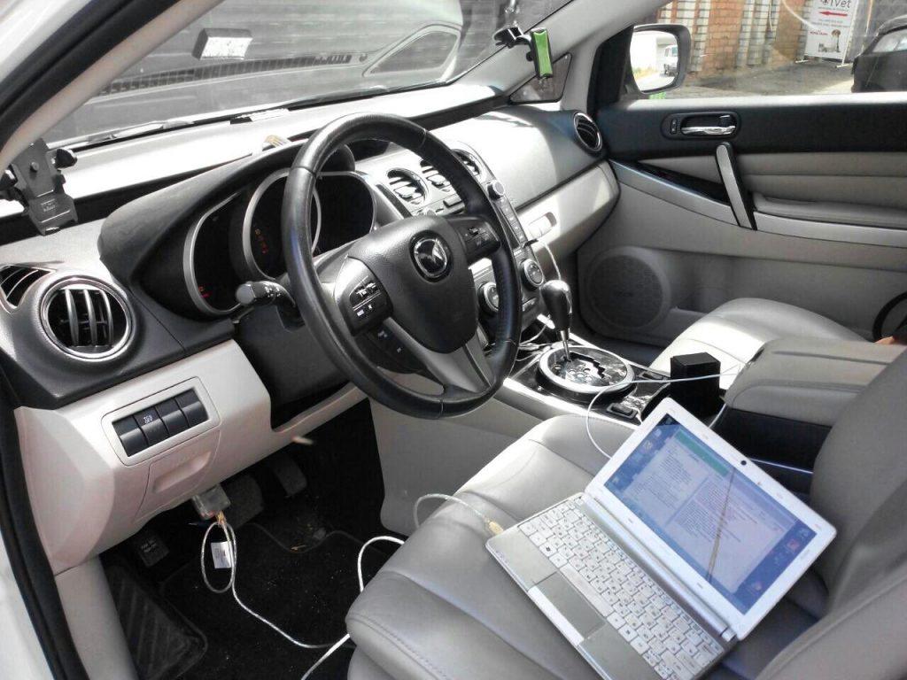 Отключить и удалить катализаторы Mazda CX-7 2.3 Turbo 2011