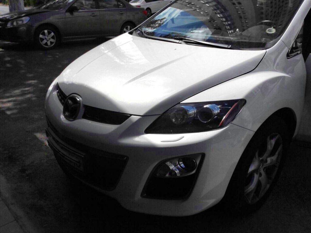 Mazda CX-7 2.3 Turbo 2011 отключение катализаторов