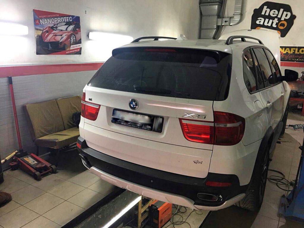 Отключить сажевый фильтр и удалить BMW X5 3.0 d 2009