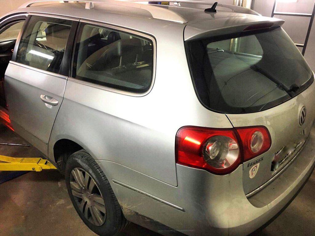 Удалить сажевый фильтр на Volkswagen Passat B6 2.0 TDI 2006