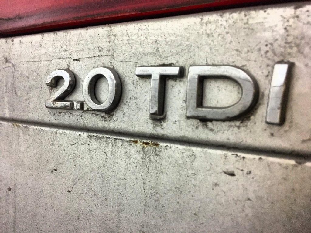 Отключить сажевый на Volkswagen Passat B6 2.0 TDI 2006