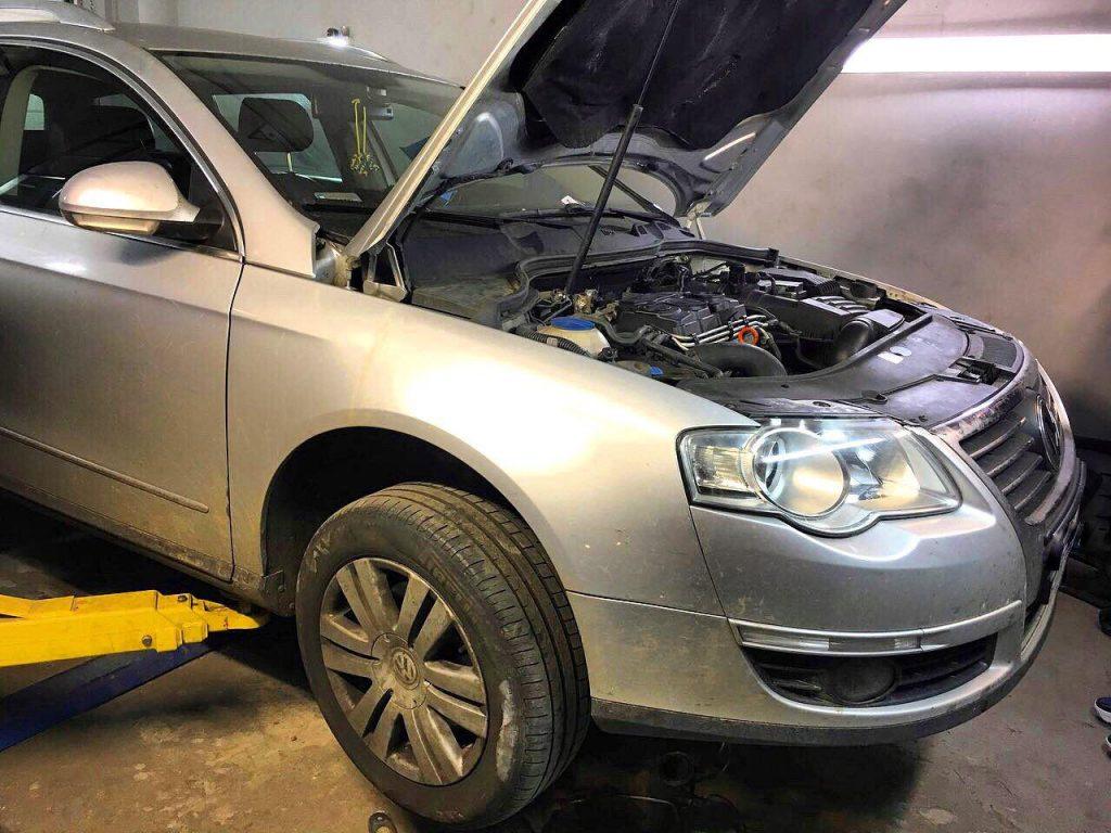 Удалить сажевый фильтр и отключить на Volkswagen Passat B6 2.0 TDI 2006