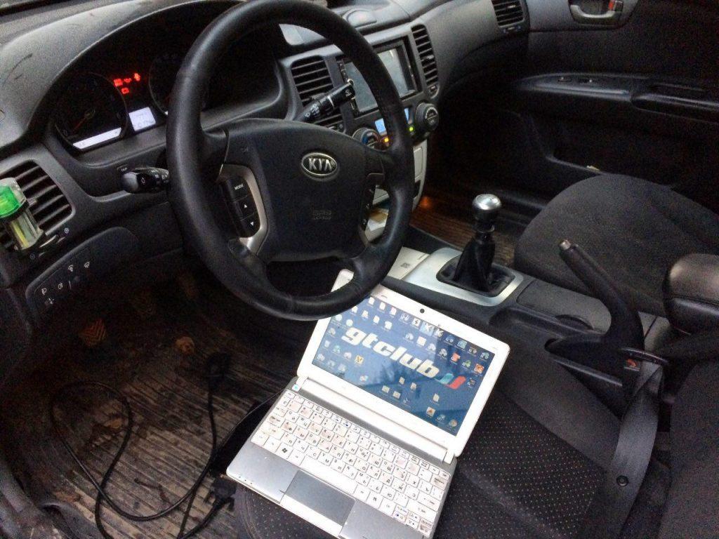 Отключение сажевого фильтра, вихревых заслонок и клапана ЕГР на Kia Magentis 2.0 CRDI 2007