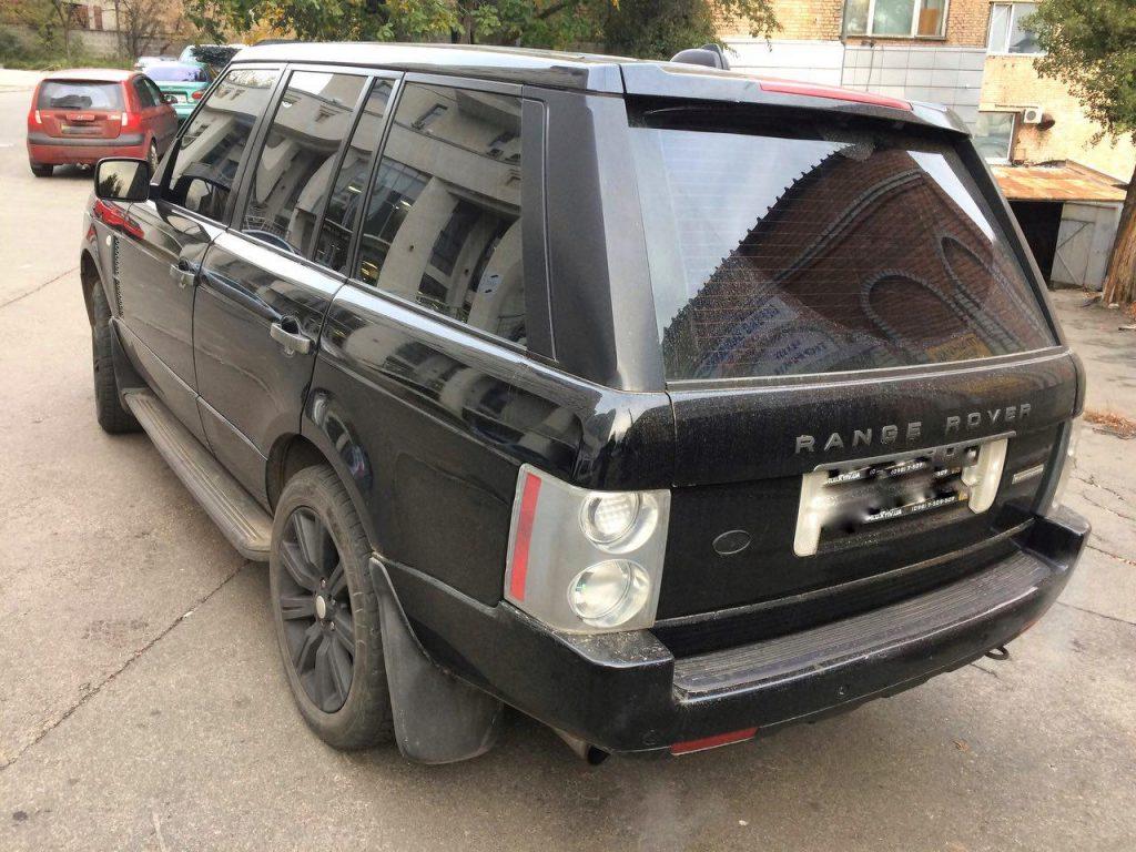 Настройка под ГБО Range Rover 4.2 ГБО 2006