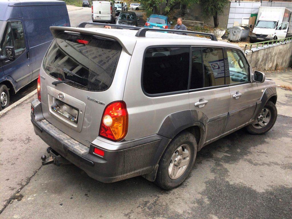 Hyundai Terracan 2.9 CRDI 2003 удаление катализатора