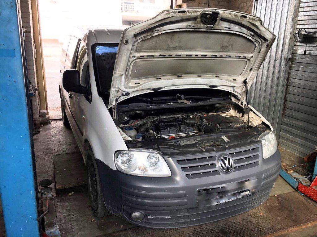 Удалить сажевый фильтр и клапан ЕГР заглушить Volkswagen Caddy 2.0 TDI 2008