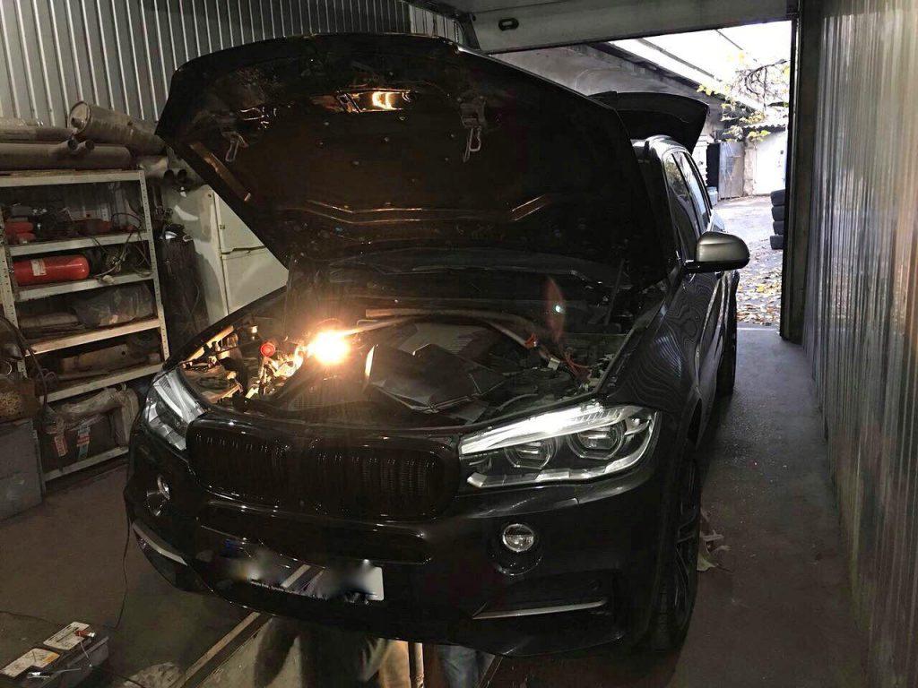 Удаление сажевого фильтра BMW X5 F15 M50d 2015
