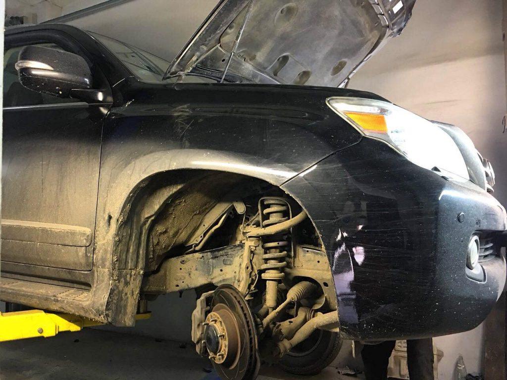 Отключить катализаторы Lexus GX 460 i 2012