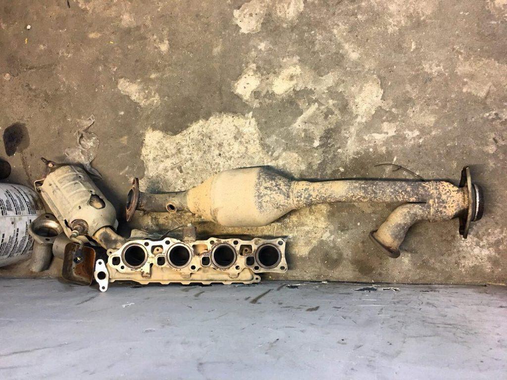 Удаление и отключение катализаторов Lexus GX 460 i 2012