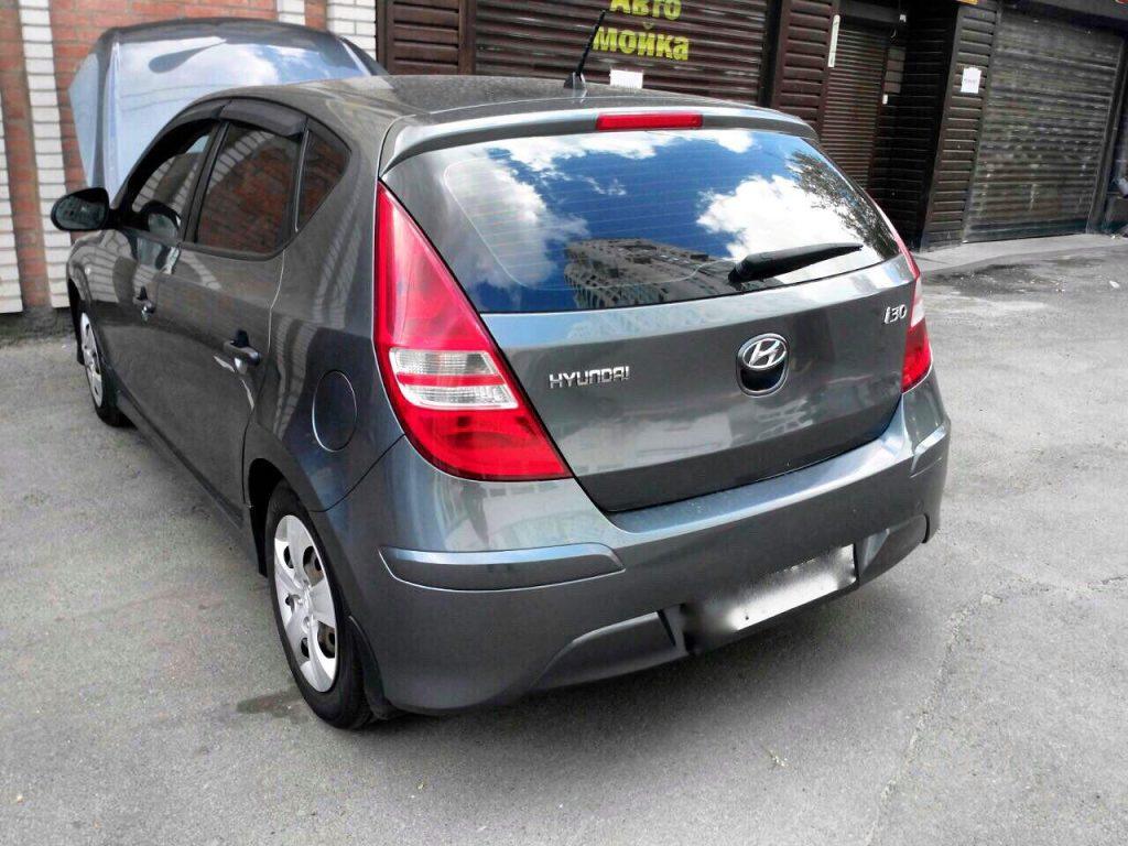 Удаление сажевого фильтра и отключение клапана ЕГР на Hyundai i30 1.6 CRDI 2009