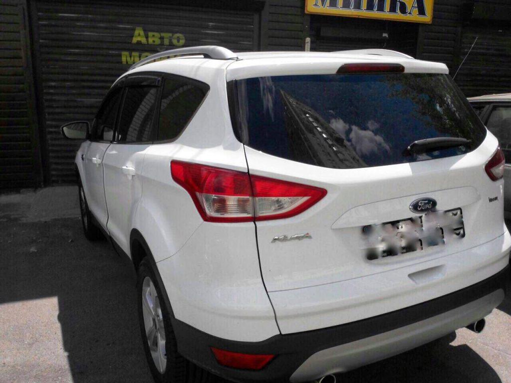 Ford Kuga 2.0 TDCI 2013 удалить сажевый и отключить