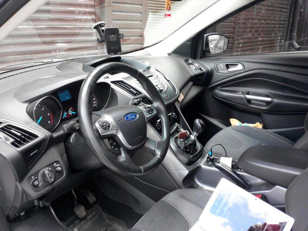 Отключение сажевого фильтра и чип-тюнинг Ford Kuga 2.0 TDCI 2013