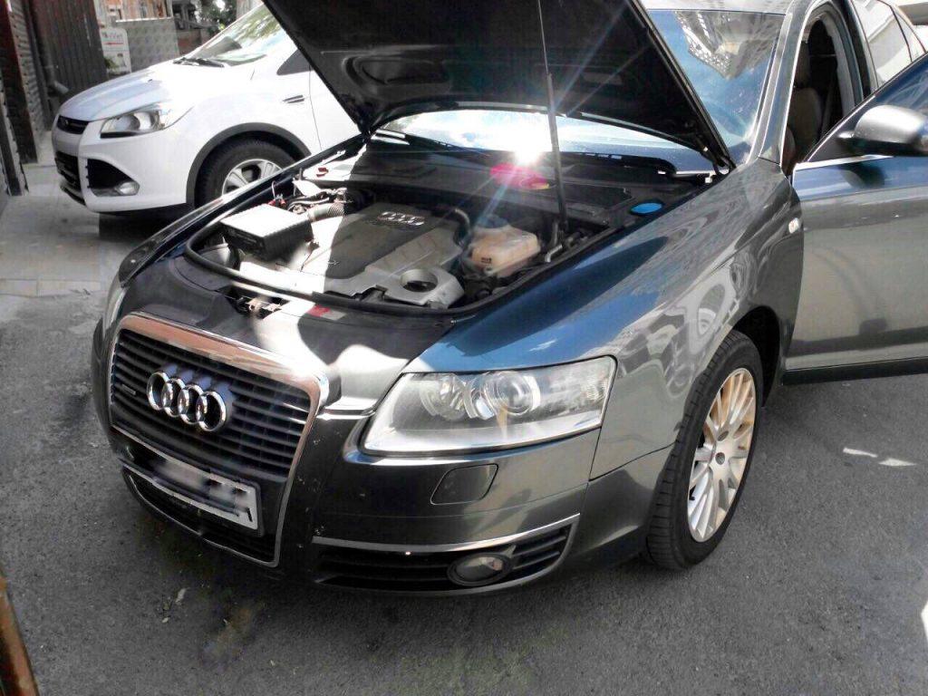 Отключить и удалить сажевый фильтр Audi A6 2.7 TDI 2007