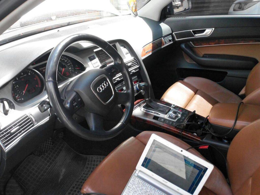 Отключение сажевого и клапана ЕГР Audi A6 2.7 TDI 2007