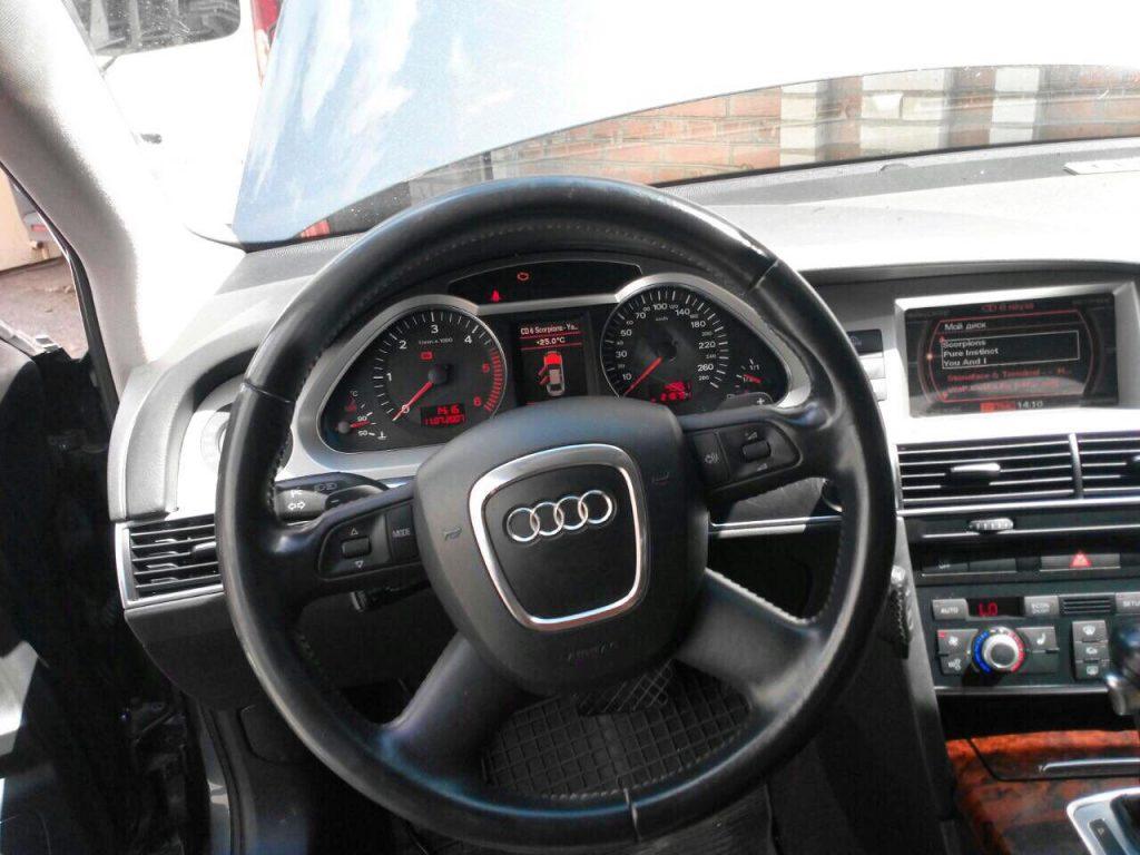 Отключить сажевый фильтр Audi A6 2.7 TDI 2007