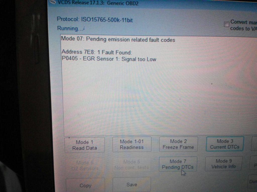 Клапан ЕГР отключить, отключить и удалить сажевый фильтр на Audi A6 2.7 TDI 2007