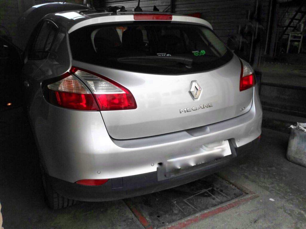 Удалить сажевый фильтр и отключить клапан ЕГР на Renault Megane 1.5 dCi 2009
