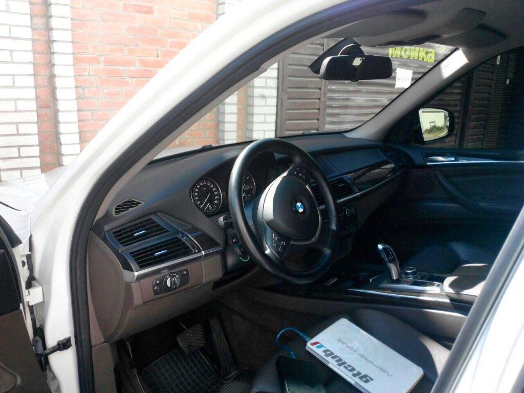 Отключение сажевого фильтра, клапана ЕГР и чип-тюнинг на BMW X5 3.0d 2010