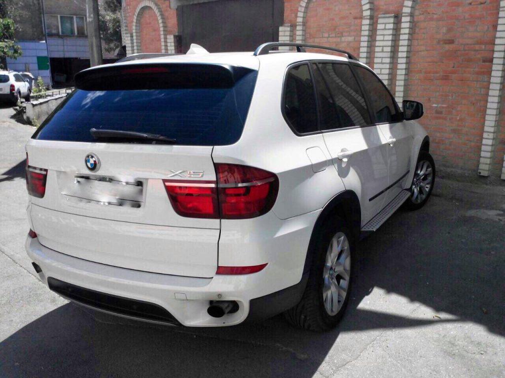 Чип-тюнинг, отключение сажевого и удаление BMW X5 3.0d 2010