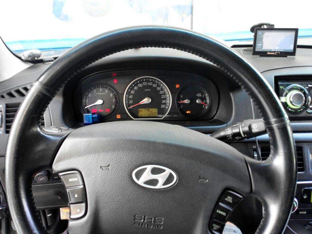 Отключить катализатор и удалить на Hyundai Sonata 3.3 2008