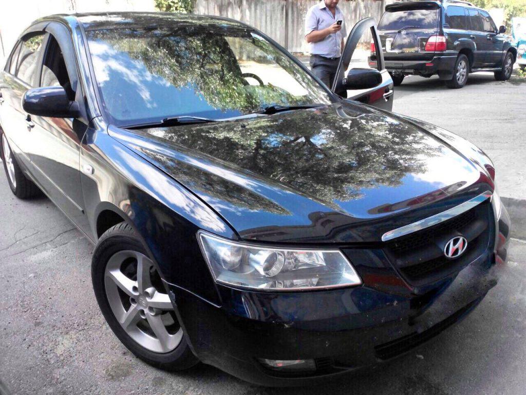 Удаление и отключение катализатора Hyundai Sonata 3.3 2008