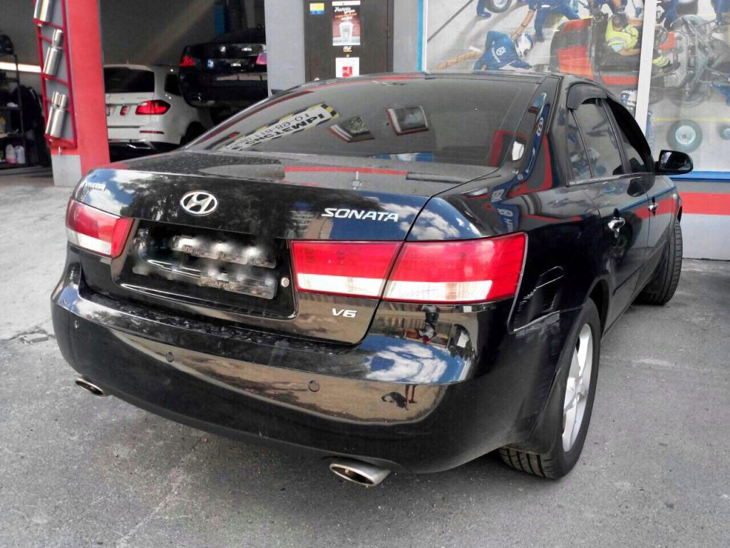 Hyundai Sonata 3.3 2008 настройка под ГБО